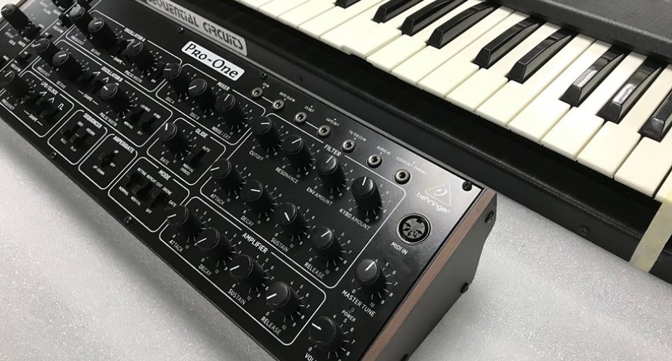 Behringer announce Pro-One clone