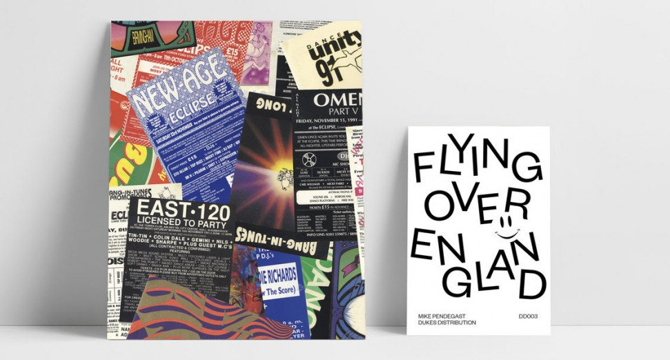 Flying Over England rave flyers book