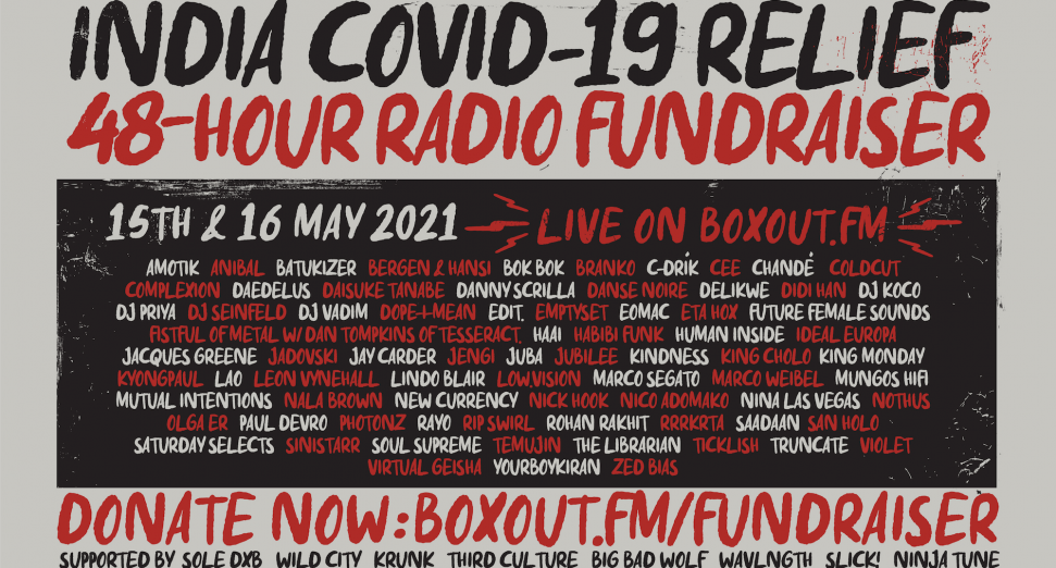India's Boxout FM announces 48-hour radio fundraiser for COVID-19 relief